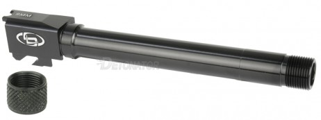 DETONATOR - Storm Lake Threaded 5 inch Aluminum Outer Barrel with Thread Cover For Tokyo Marui M&P9 PC Ported