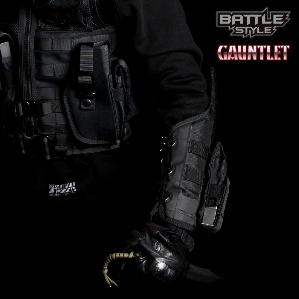 Laylax Gauntlet Black Dial Lock System