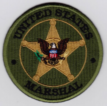 Replica Patch - US MARSHAL Badge Patch Green