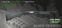Maruzen - M870 BV Black Version Live Cartridge Gas Shotgun