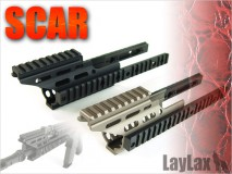 LAYLAX/NITRO.Vo - SCAR-L Handguard Booster for SCAR-H DARK EARTH
