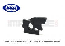 Tokyo Marui Spare Parts USP COMPACT / UC-40 (Slide Stop Base)