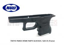 Tokyo Marui Spare Parts GLOCK26 / G26-55 (Frame)