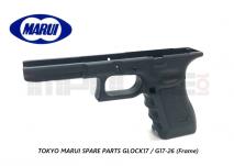Tokyo Marui Spare Parts GLOCK17 / G17-26 (Frame)