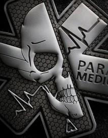 PVC Patch - Paramaedic VII Intervention Black