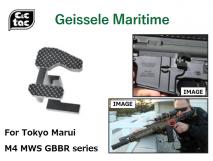 C&C TAC - Geissele Maritime Type Aluminum Bolt Stop for Tokyo Marui M4 MWS series