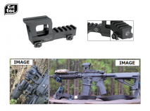 C&C TAC - Knight's Type T1/T2 Dot Sight Height Rise Mount for 20mm Rail