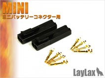 LAYLAX/PROMETHEUS - Gold Pin Connector Set for Mini Connector