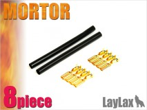 LAYLAX/PROMETHEUS - Motor Gold Pin Set x8