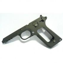 TANIO KOBA - Railed Frame / Checker Type for Tokyo Marui MEU Pistol