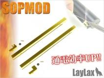 LAYLAX/PROMETHEUS - Tokyo Marui Next Gen M4 Sopmod Stock Terminal Conversion kit (M4 CQB-R/HK416D DEVGRU)