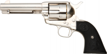 TANAKA WORKS - 4.3/4 inch Civilian Nickel Jupiter Finish (Gas Revolver)