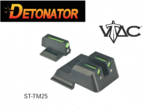 DETONATOR - Vtac Type Hybrid Steek Front & Rear Sight For Tokyo Marui MEU GBB