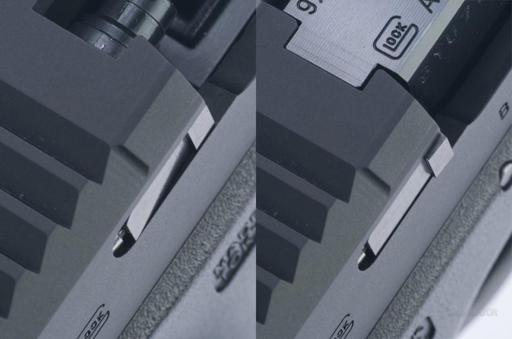 DETONATOR - Glock19 Boresight Solutions Custom Slide Black