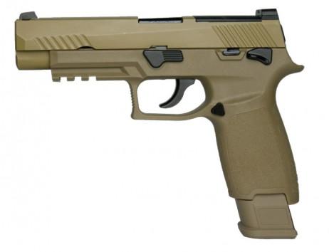 AEG (Asia ELectric Guns) - Sig Sauer P320 M17 TAN (GBB)