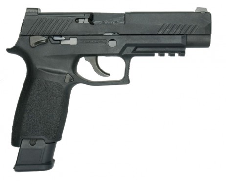 AEG (Asia ELectric Guns) - Sig Sauer P320 M17 Bravo Black (GBB)