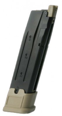 AEG (Asia Electric Guns) - Sig Sauer P320 M17 Style Spare Gas Magazine TAN