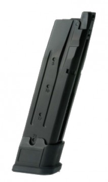 AEG (Asia Electric Guns) - Sig Sauer P320 M17 Style Spare Gas Magazine BLACK