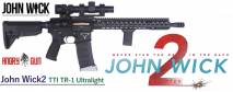 ANGRY GUN - TTI John Wick TR-1 Ultralight Conversion Kit for Tokyo Marui M4 MWS GBBR Series