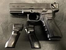 PANDORA ARMS - Wood Grip Glock 17/18C Smooth Black
