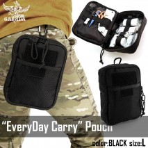 Laylax/Garuda - EveryDay Carry Pouch Black L size
