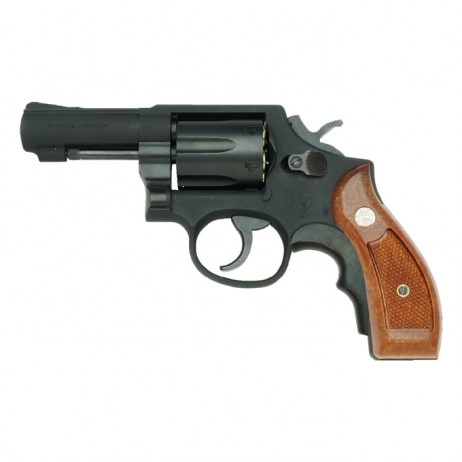 TANAKA WORKS - Smith & Wesson M13 3 inch FBI Special Heavy Weight Ver.3 with Grip Adaptor (Gas Revolver)