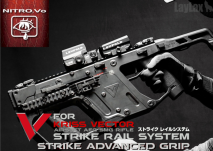 LAYLAX / Nitro.Vo - KRISS VECTOR Strike Rail System & Advanced Grip Set (5th Anniversary Discount Set)