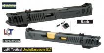 NOVA - G17 LOKI Uncle Gaspacho Custom Slide with Compensator For Tokyo Marui Glock 17 (5th Anniversary Discount)