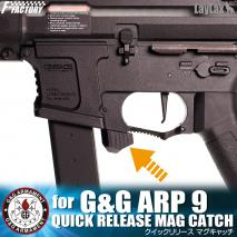 LAYLAX/FIRST FACTORY - QUICK RELEASE MAG CATCH for G&G ARP-9
