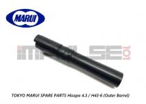 Tokyo Marui Spare Parts Hicapa 4.3 / H43-6 (Outer Barrel)
