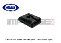 Tokyo Marui Spare Parts Hicapa 4.3 / H43-3 (Rear Sight)
