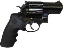Marushin - Super Redhawk Alaskan 44 Magnum Type W Deep Black Hogue Grip Ver. (Gas Revolver)