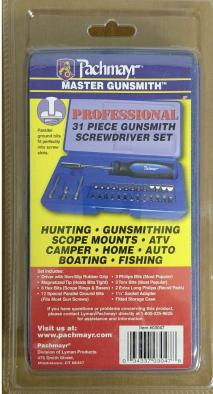PACHMAYR - Gunsmith Screwdriver Set