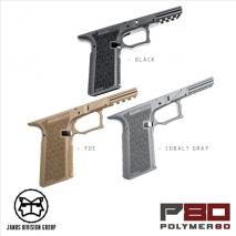 JDG - Polymer 80 (P80) PF940 V2 Type Frame Black for Tokyo Marui Glock 17