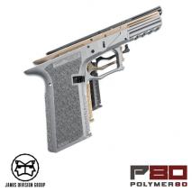 JDG - Polymer 80 (P80) PF940 V2 Type Frame Gray for Tokyo Marui Glock 17