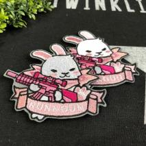NITRON PATCH - Pink Usagi