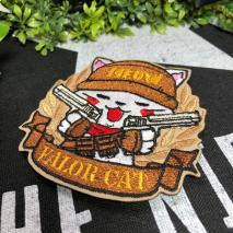 NITRON PATCH - Bandoleer Neko Brown