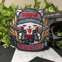 NITRON PATCH - Bandoleer Neko Gray