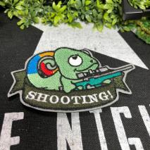 NITRON PATCH - Chameleon Sniper Green