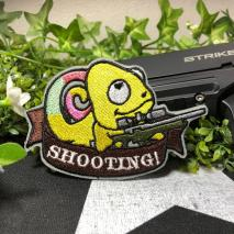 NITRON PATCH - Chameleon Sniper Yellow