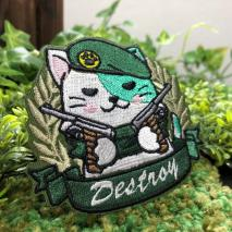 NITRON PATCH - Neko Patch Green