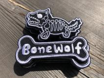 NITRON PATCH - Bone Wolf