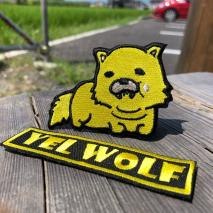 NITRON PATCH - Yellow Wolf