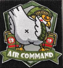 NITRON PATCH -Air Command Bird Green