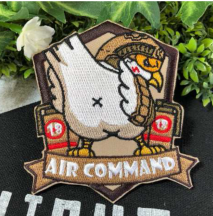 NITRON PATCH -Air Command Bird Green