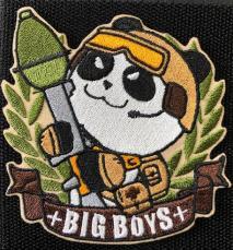 NITRON PATCH - Panda RPG Brown