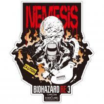 CAPCOM Bio Hazard RE:3 - Sticker NEMESIS