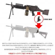 LAYLAX/FIRST FACTORY - Tokyo Marui MK46 Mod.0 Stock Base - Buffer Tube Adapter