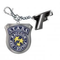 CAPCOM Bio Hazard RE:3 - Metal Key Holder S.T.A.R.S.