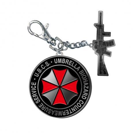 CAPCOM Bio Hazard RE:3 - Metal Key Holder U.B.C.S.